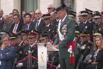 Dia de la Patrona en Cataluña: Un general decente y un Gobierno cobarde