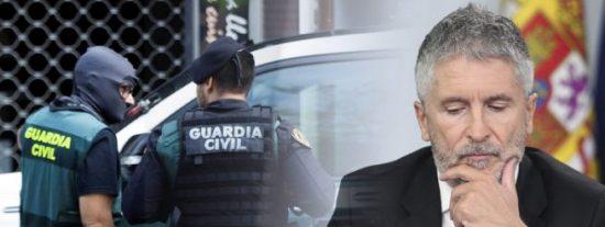 Las 'chapuzas' de Marlaska en la Guardia Civil: El supremo investiga por acoso laboral al alto mando que ascendió