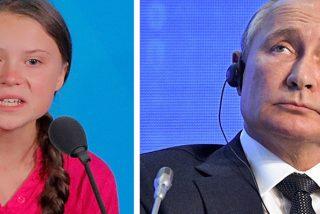 """Greta Thunberg responde a Putin tras decir esto: """"Es una niña buena pero mal informada"""""""