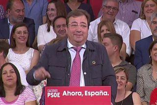 Al socialista Guillermo Fernández Vara se le escapa lo que muchos piensan dentro y fuera del PSOE: