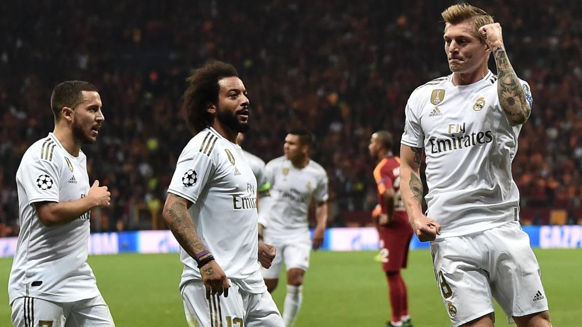 Champions: el Real Madrid se carga al Galatasaray (0-1) y aplaca la 'pasión turca'