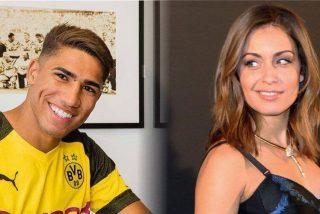 La actriz Hiba Abouk y el futbolista del Borussia, Achraf Hakimi, esperan su primer hijo