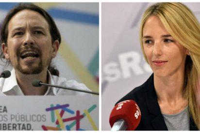 """Pablo Iglesias vuelve a picotear en el corral de la inmoralidad jaleando al grupo que amenaza a Cayetana Álvarez de Toledo: """"Ese cuello pide guillotina"""""""