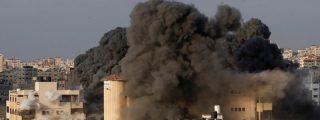 Israel bombardea hasta las cenizas una base militar del grupo terrorista Hamas