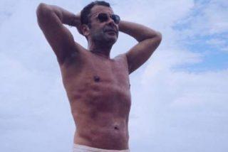 El asombroso secreto de Jorge Javier para presumir de abdominales sin esfuerzo