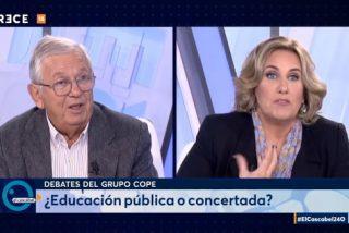"Cristina López Schichting a Jáuregui: ""¡Dímelo a la cara que te destrozo!"""