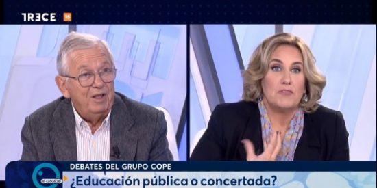 """Cristina López Schlichting a Fernando Jáuregui: """"¡Dímelo a la cara que te destrozo!"""""""