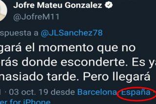 Jofre, ex jugador del Barça, amenaza al periodista José Luis Sánchez por denunciar la pancarta del Camp Nou