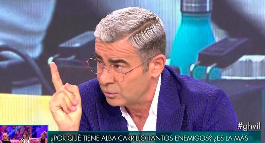 Jorge Javier Vázquez mete un corte épico a Belén Esteban por recriminarle la actitud que mantuvo con ella cuando concursó en GH VIP
