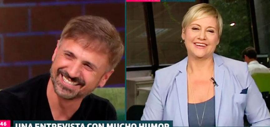 José Mota imita de manera descacharrante a Gloria Serra sin saber que ella estaba viéndole en directo