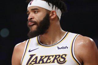 Jugador de los Lakers sufre una 'lesión' con la que desconcierta a sus rivales