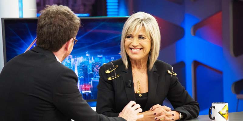 Julia Otero, al más puro 'estilo Rappel', vaticina en 'El Hormiguero' quien va a ser la próxima líder de la derecha española
