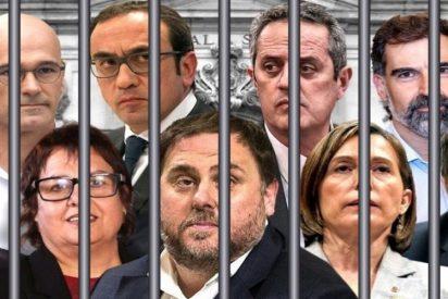 El TS condena por unanimidad a los líderes golpistas del 'procés' por sedición y malversación: hasta 10 años en prisión