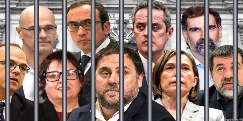 El golpista Junqueras, condenado a 13 años de cárcel, podrá salir ya de prisión tres días por semana