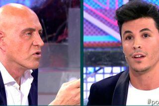 Kiko Matamoros y Kiko Jiménez mantienen un enfrentamiento propio de dos 'chulos de bolera' y no de colaboradores de Mediaset