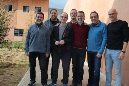 Los 16 escandalosos privilegios de los que disfrutan los golpistas Junqueras, Romeva, Rull, Turull, Forn y los Jordis en prisión