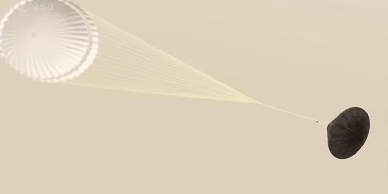 La ESA pide ayuda a NASA para finalizar los paracaídas para ExoMars 2020