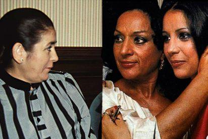 """Pilar Eyre: """"Lola Flores era mucho más moderna, no como la madre de la Pantoja, siempre vigilando a su hija"""""""
