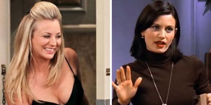 La curiosa foto de Kaley Cuoco y Courteney Cox que ha revolucionado a los fans de 'The Big Bang Theory' y 'Friends'