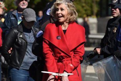 La policía arresta por segunda vez en una semana a Jane Fonda