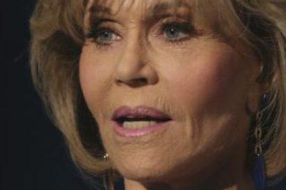 ¡Momento Vietnam!: La policía detiene a la anciana Jane Fonda, en una protesta por el clima en Washington