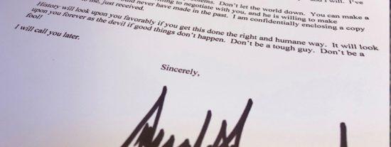 La popular carta de Trump a Erdogan se hace viral y salen versiones con emoji, memes y hasta los créditos de 'Star Wars'