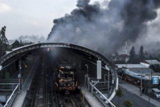 350 millones de dólares: El coste de los destrozos generados por los violentos chilenos en el Metro