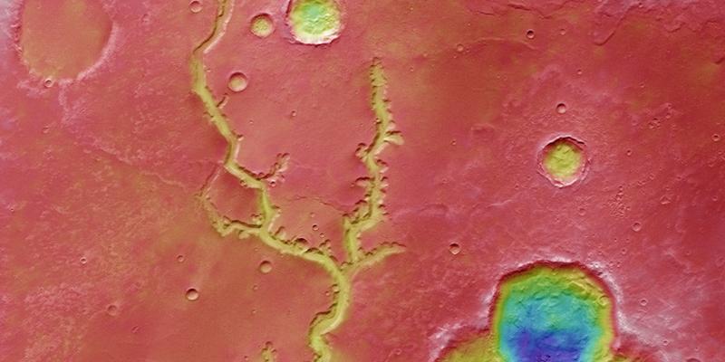 """¿Los misteriosos """"lagos"""" de Marte están creados de arcilla?"""