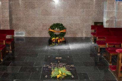 Así en la nueva tumba de Franco en el cementerio de El Pardo