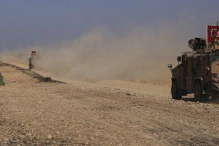 Las fuerzas turcas se concentran ya en la frontera siria tras el anuncio de Erdogan sobre una inminente operación