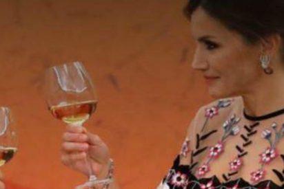 """Las injurias de la prensa 'indepe' catalana contra la Reina Letizia: es una """"alcohólica en rehabilitación"""", por eso no prueba el vino"""