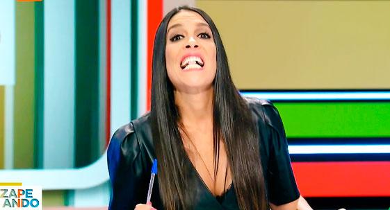 Lorena Castell obligada a abandonar en directo 'Zapeando' al sufrir una indisposición