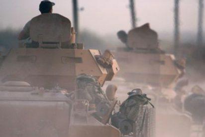 Los turcos lanzan una operación militar por vía terrestre contra la milicia kurda en el norte de Siria tras los bombardeos