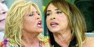 Riña de 'gatas' en 'Sálvame': María Patiño y Lydia Lozano se enfrentan por Mila Ximénez