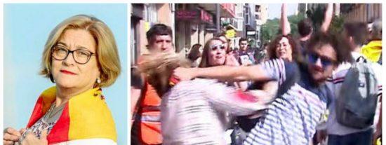 La golpeada abanderada de VOX desenmascara el feminismo de pega de Calvo, Atresmedia, Mediaset y la soviética RTVE