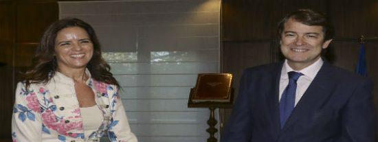 Fernández Mañueco tiende la mano al resto de fuerzas políticas