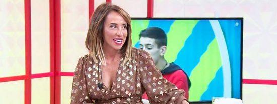 """La cara de María Patiño al ver la 'tranca' de El Cejas en 'GH VIP': """"¡Que barbaridad!"""""""