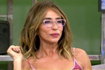 María Patiño la vuelve a liar y se muere de vergüenza tras hacer un inapropiado comentario en el 'Deluxe'