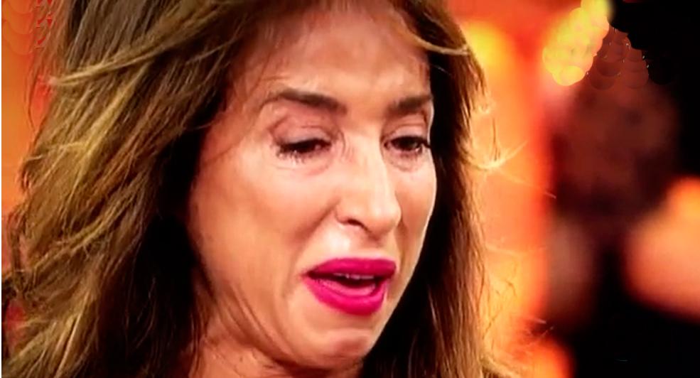 El paso de los años comienza a hacer estragos físicamente en María Patiño