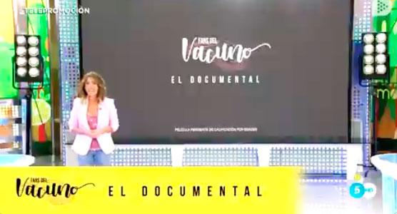 A María Patiño le patina de nuevo el vocabulario, en esta ocasión durante una telepromoción