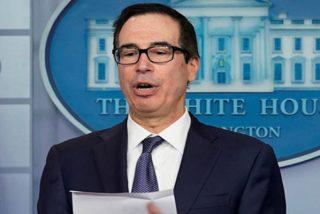 """Mnuchin: """"Trump permitió al Departamento de Tesoro introducir sanciones muy potentes contra Turquía que pueden 'acabar' con su economía"""""""