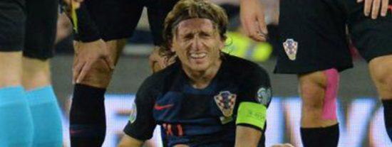 Malas noticias para el Real Madrid: Modric y Bale acaban lesionados en el Gales - Croacia