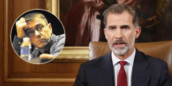 'Bocachancla' Monedero embadurna la Casa Real con una tórrida acusación al Rey Felipe: su lío sexual con un Príncipe europeo