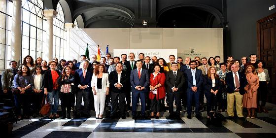 """Moreno propone """"un frente común"""" contra la pobreza en Andalucía"""