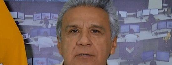 """Moreno dice tener 5 resoluciones tras """"días difíciles"""" para Ecuador"""