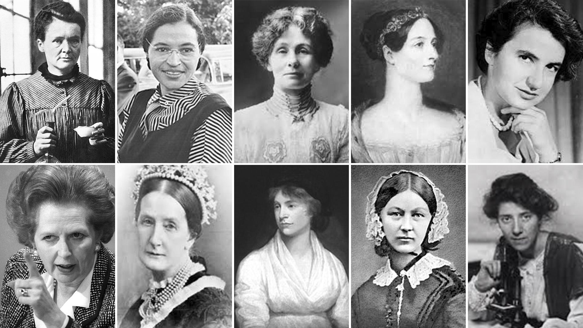 Historia: 100 mujeres que cambiaron el mundo