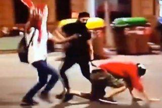 'La Ley del Embudo': los Mossos detienen y el juez manda a prisión a dos de los españolistas que apalearon a un CDR independentista