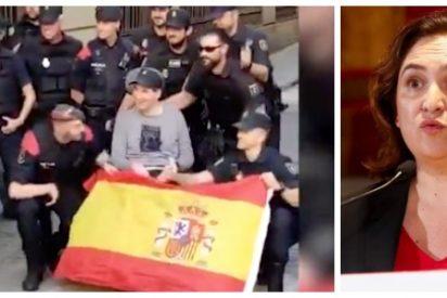 La infame Colau regala subvenciones a la asociación de la madre del animal 'indepe' que dejó a este policía tetrapléjico