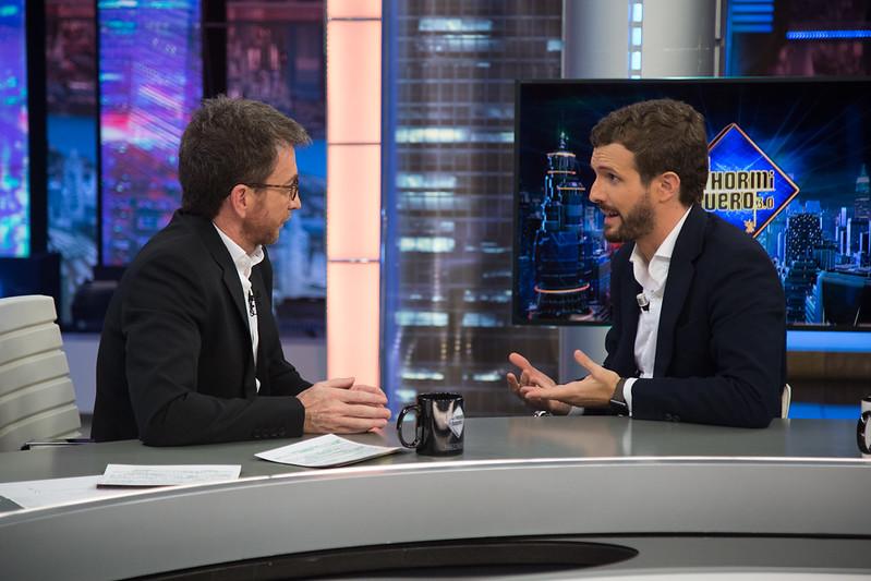 A Pablo Motos le 'patina' la Historia sobre Cataluña en su entrevista a Pablo Casado