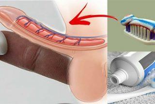 Los médicos advierten que dejen de aplicar pasta de dientes en sus genitales ¡Es muy peligroso!